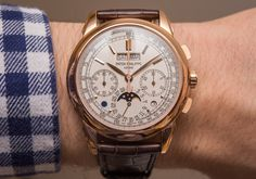 Patek Philippe 5270R-001 Perpetual Calendar Chronograph Watch Hands-On