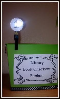 The Hands-On Teacher: Made It Monday: Library Organization!