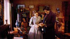 Winona Ryder (Jo March) & Gabriel Byrne (Friedrich Bhaer) - Little Women directed by Gillian Armstrong (1994) #louisamayalcott