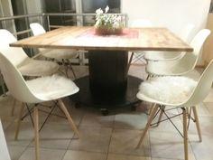 140 x 140cm diy pöytä
