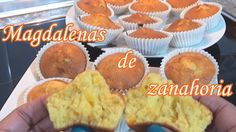 Muffins de zanahoria, magdalenas muy fáciles   Very easy carrot muffins ... Cupcakes, Tortillas, Breakfast, Brownies, Easy, Recipes, Sugar, Food, Youtube