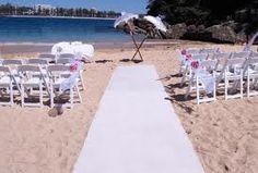 beach wedding decorations - Google Search
