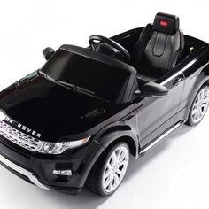 Carrito Electrico Range Rover Negro Control Remoto