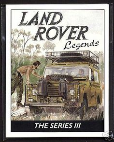 LandRover Series - some of the best times of my life have been spent in a Series III Defender 90, Land Rover Defender 110, Landrover Defender, Range Rover Off Road, Land Rover Series 3, Best 4x4, Motorhome, Cars Land, Off Road Adventure