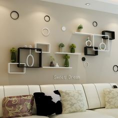 TV background wall shelving cross creative lattice shelf clapboard restaurant living room living room wall mount cabinet