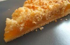 Tarte crumble aux abricots rapide