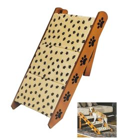 NEW Convertible Pet Steps/Ramp Dog Cat Portable Folding Couch Bed Stairs Wood by Lovely Pets NEW Convertible Pet Steps/Ramp Dog Cat Portable Folding Couch Bed Stairs Wood Material: Wood Fabric Read  more http://dogpoundspot.com/dog-luxury-store-2512/  Visit http://dogpoundspot.com for more dog review products
