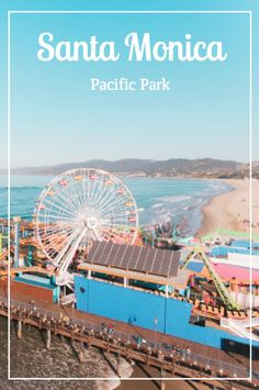 Even if you are staying at a luxury hotel in LA, nothing beats a day at the beach, so visit Pacific Park on the Santa Monica Pier! I Love La, Athletic Clubs, Pacific Ocean, Ocean Waves, Santa Monica, Southern California, Beats, Exploring, The Neighbourhood