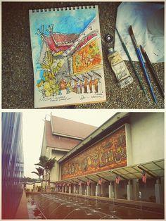 #UrbanSketchers
