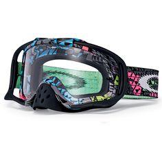 549b8dee00d Oakley Crowbar MX Off Road Grey HazMat Goggles (CLOSEOUT) - Extreme Supply