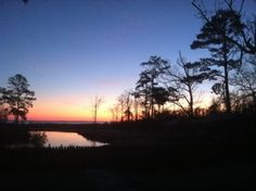 Sunrise over Duck, North Carolina