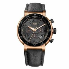Hugo Boss Chronograph Rose Gold-tone Mens Watch HB1512312