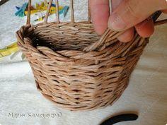 Мастер-класс Поделка изделие Плетение Итальянская загибка мк Кружево Трубочки бумажные фото 20