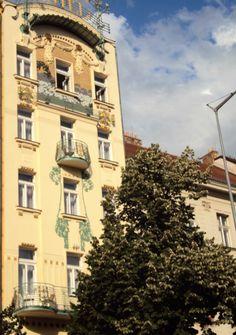 Arte Nova em Praga Praça de S. Venceslau
