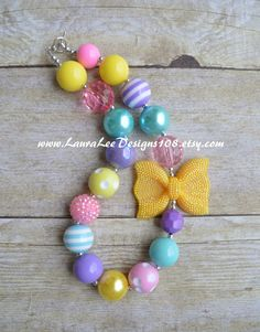 Colorful Pastel Spring Inspired Bubblegum by LauraLeeDesigns108