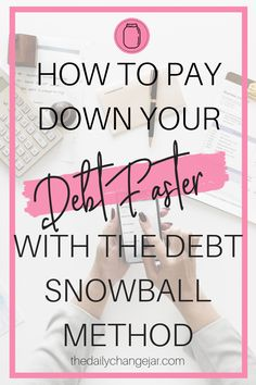 Build momentum while paying off your debt is using the debt snowball method. Start with small wins to get out of debt once and for all. Debt Snowball Spreadsheet, Debt Snowball Worksheet, Ways To Save Money, Money Saving Tips, College Savings Plans, Money Makeover, Get Out Of Debt, Budgeting Money, Investing Money