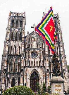 #Kathedrale in #Hanoi