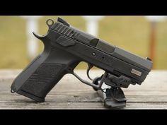 CZ 75 P-07 Duty with suppressor - YouTube
