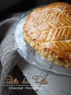 galette des rois chocolat-noisettes Quick Recipes, Cake Recipes, Chocolate Hazelnut Cake, Afternoon Snacks, Food Hacks, Delish, Sweet Tooth, Bakery, Cooking