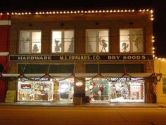 ML Edwards has been in downtown Mount Vernon for more than 100 years and still going strong!