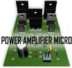 This power circuit is capable of up to DC symmetrical, Where this micro power amplifier can produce incredible power up to if properly coupled and using a good power supply is minimal to big power out, the current intended for this power is Ab Circuit, Circuit Diagram, Electronic Circuit Projects, Electronics Projects, Mini Driver, Diy Amplifier, Power Out, Audio In, Audiophile