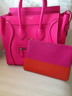 Love the pink - maybe in a bag that's not such a splurge