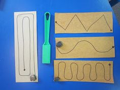 Inspired Montessori and Arts at Dundee Montessori: Magnet Trays and Scale Weighing