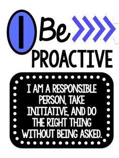 FREEBIE tpt - Miss West's Best 7 Habits - Leader in Me Posters
