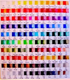 faber castell polychromos 120 colors chart