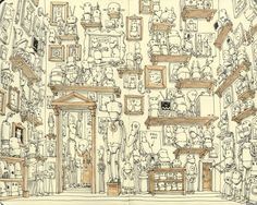 Find about more about Mattias Adolfsson. For Mattias, sketching is 'an outlet for a rather heavy-handed education and a way for [him] to be a comedian without standing on stage. Grab a copy here: http://shop.3dtotal.com/books/3dtotalpublishing/sketching-from-the-imagination.html