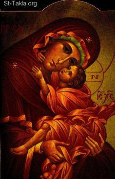 Saint Mary Theotokos Mother of God صورة, Greek icon of Saint Mary