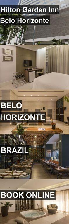 Hotel Hilton Garden Inn Belo Horizonte in Belo Horizonte, Brazil. For more information, photos, reviews and best prices please follow the link. #Brazil #BeloHorizonte #travel #vacation #hotel