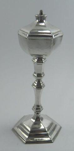 Silver table lighter, Mappin & Webb Ltd, Birmingham 1929