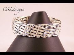 ▶ Close wire woven bracelet - YouTube