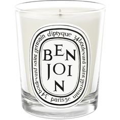 Diptyque Benjoin Scented Candle ($60) ❤ liked on Polyvore featuring home, home decor, candles & candleholders, diptyque candles, india home decor, vanilla scented candles, diptyque y fragrance candles