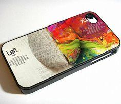 Left Brain Right Brain iPhone Case