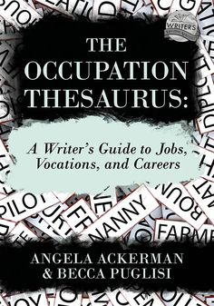 One thing that never gets old is being able to share when a new book in on its way, so as you might imagine, Becca and I are pretty happy to pen this post. The Occupation Thesaurus will be here … Continue reading → Writing Words, Cool Writing, Creative Writing, Writing A Book, Writing Tips, Fiction Writing, Start Writing, Writing Skills, Writing Romance