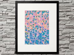 Get your exclusive print art for your gallery wall Hipster Fashion, Hipster Style, Design Poster, Triangle Pattern, Animal Projects, Printable Designs, Decorative Items, Pet Dogs, Pet Project