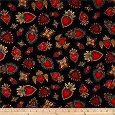 Skull Fabric, Heart Background, Heart Day, Traditional Fabric, Photoshop, Gravure, Sacred Heart, Day Of The Dead, Amazon Art
