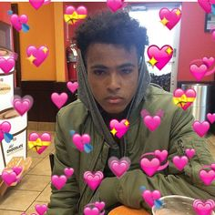 Read 😍💞Arms Around You💞😍 from the story XXXTENTACION Cute Pictures by shibuyabitch (🦋jah🦋) with 880 reads. Love U So Much, Always Love You, My Love, Billie Eilish, Sapo Meme, Xxxtentacion Quotes, Rap Wallpaper, Emoji Wallpaper, Heart Meme