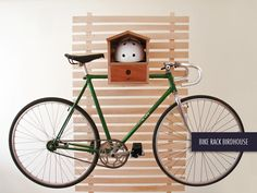 DIMINI - Bike Rack Birdhouse