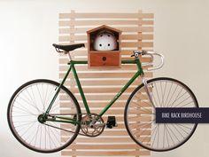 DIMINI - Bike Rack Birdhouse