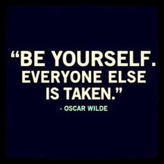 Don't try to be that poser being yourself is the best skill you can get