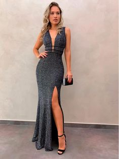 Cute Prom Dresses, Prom Outfits, Dressy Dresses, Elegant Dresses, Beautiful Dresses, Dress Outfits, Fashion Dresses, Long Mermaid Dress, Mermaid Dresses