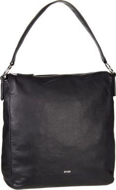 BREE Handtasche »Cary 6« für 199,95€. Beuteltasche / Hobo Bag, Leder, Rückseitiges Reißverschlussfach, Verstärkter Boden, Rückseitiges Fach bei OTTO