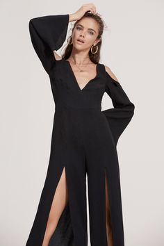 8841707207d2 FINDERS KEEPERS HAUNTED JUMPSUIT black