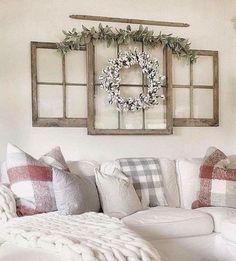 Living Room Farmhouse Style Decorating Ideas 34