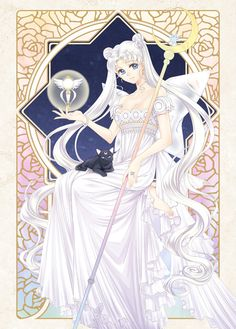 Princess Serenity by 靄羅 on pixiv