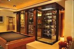 House in the Woods - contemporary - wine cellar - minneapolis - SKD Architects