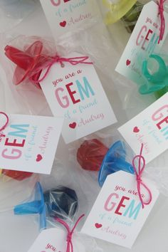 You're a Gem of a Friend Valentine's Day Card Printable Valentines Bricolage, Kinder Valentines, Valentine Gifts For Kids, Valentines Day Treats, Valentine Day Love, Valentine Day Crafts, Valentines Fundraiser Ideas, Valentine Party, Valentines Ideas For School